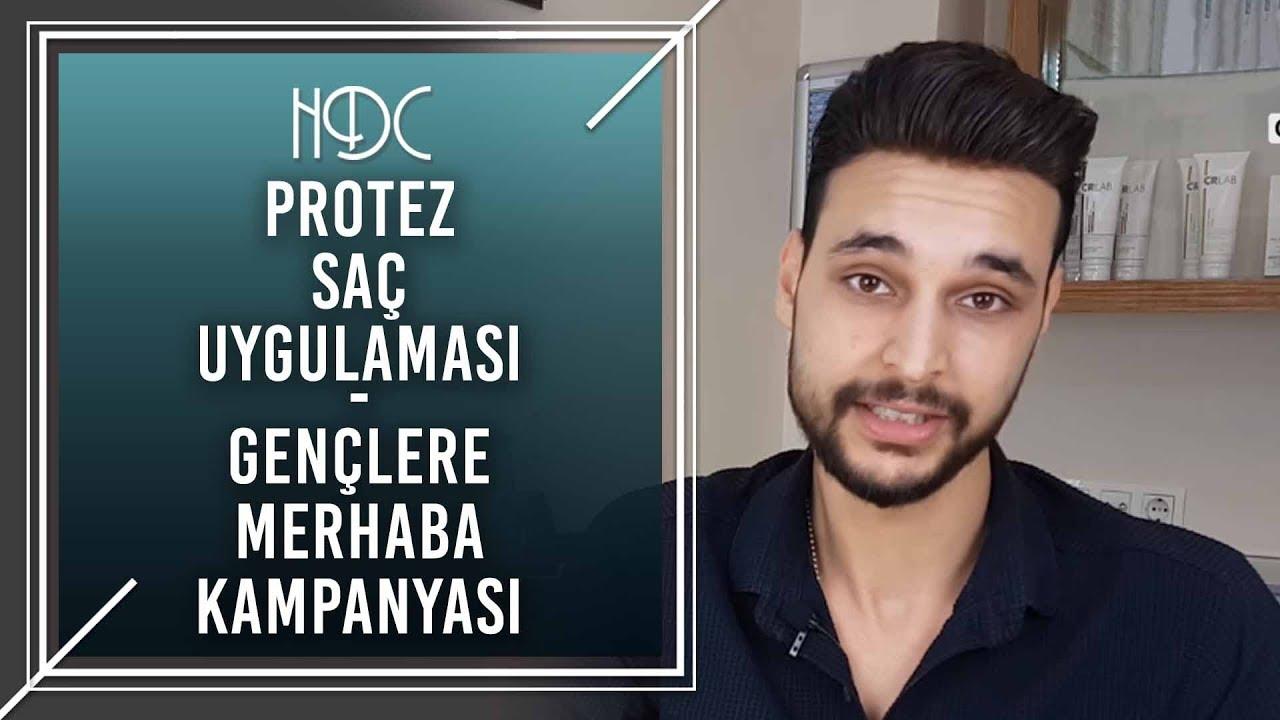 Protez Saç Uygulaması - Gençlere Merhaba Kampanyası